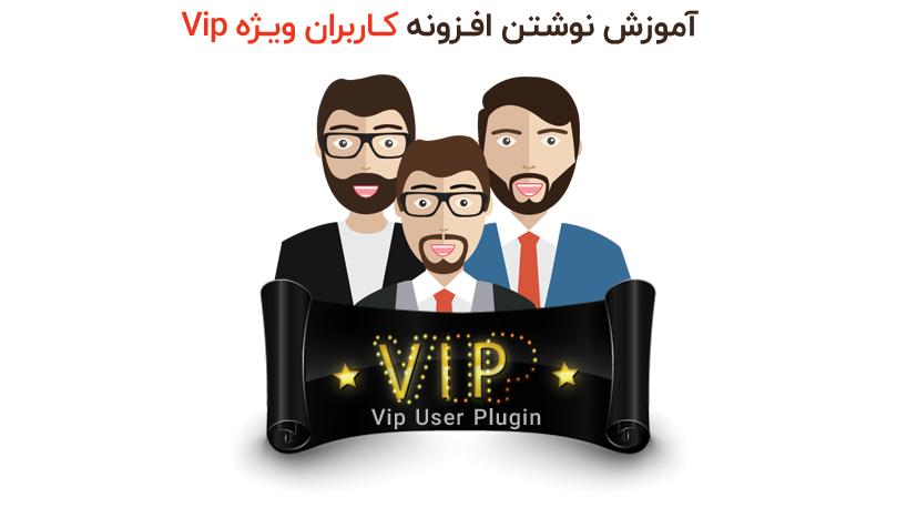 برنامه نویسی کاربران ویژه vip
